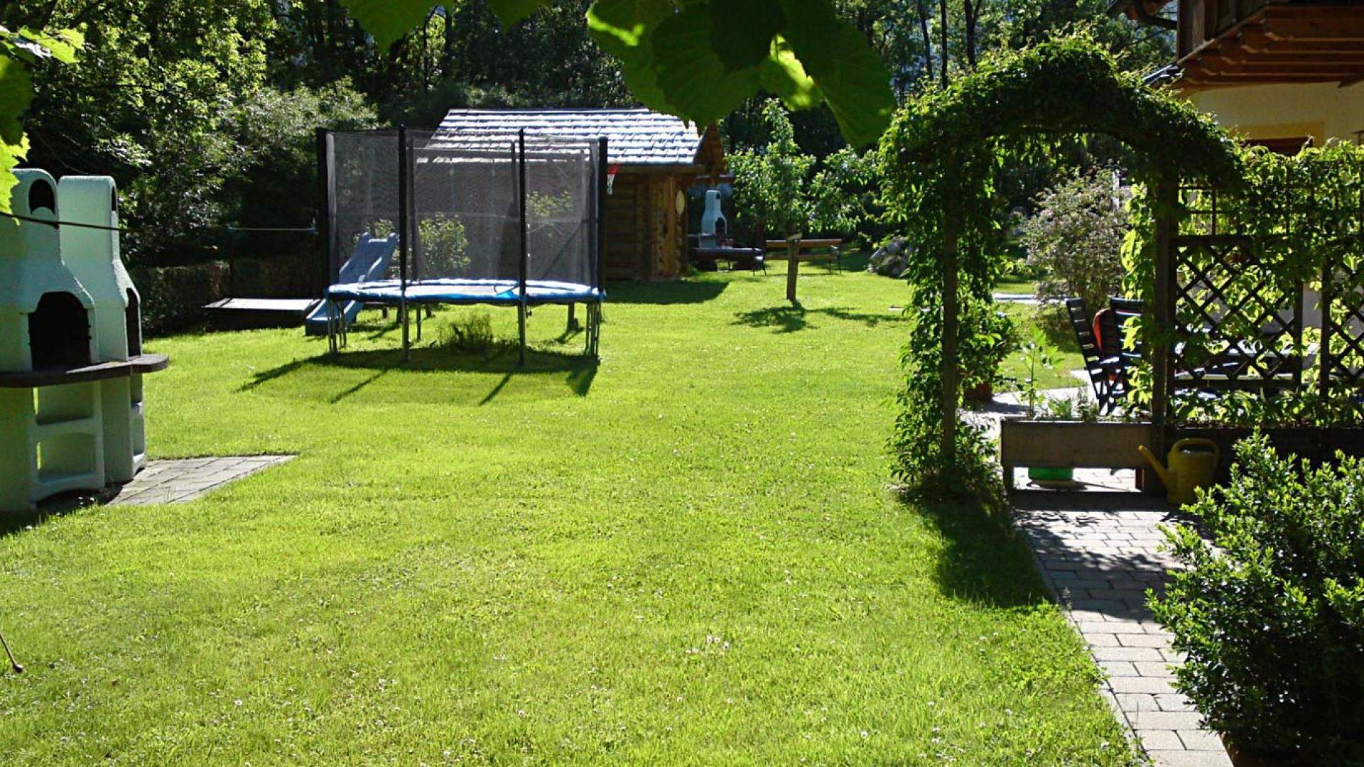 Viel Platz zum Spielen im Ferienhaus Reinbacher